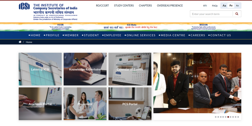 ICSI extends last date for change of centre, medium and module for CS June 2020