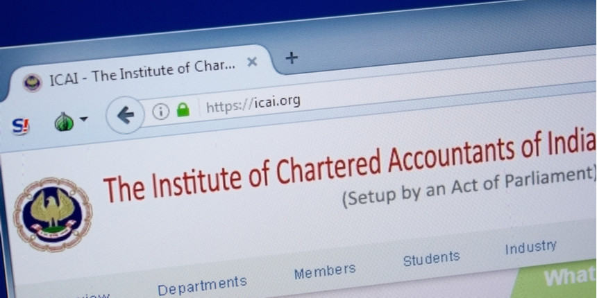 ICAI to hold live interaction session for students
