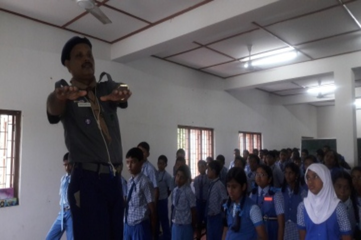 kamaraj english medium school - bharat scout and guide