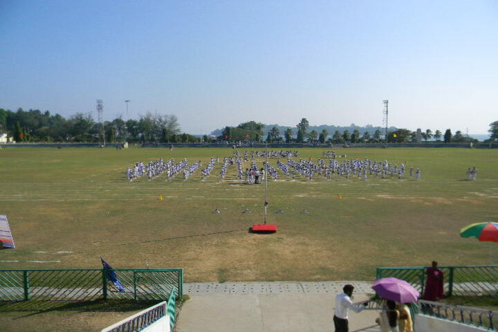 kamaraj english medium school - sports