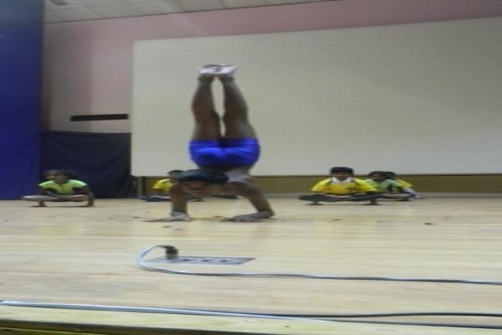kamaraj english medium school - yoga