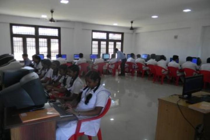 kamaraj english medium school - computer lab