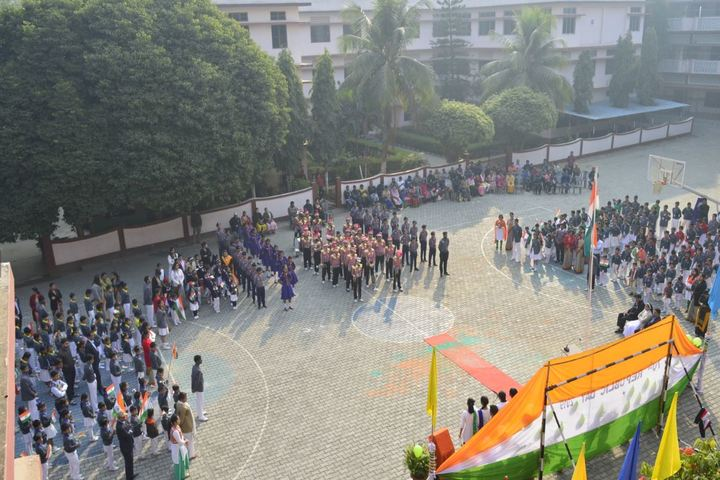 St Francis D Assisi High School-Republic Day