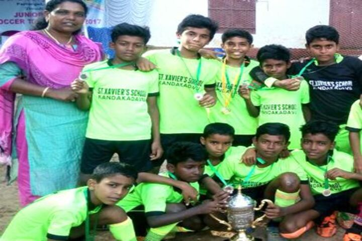 St Xaviers Public School-Champions
