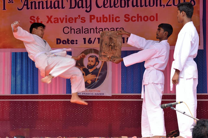 St Xavier s Public School- Martial Arts