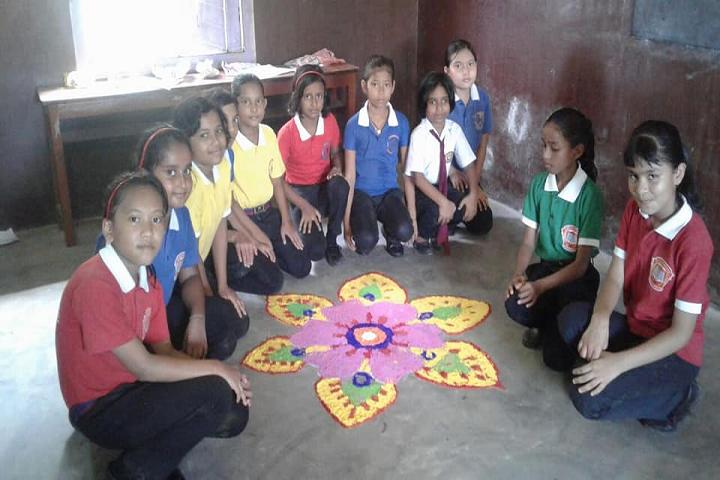St Xavier s Public School- Rangoli Competition