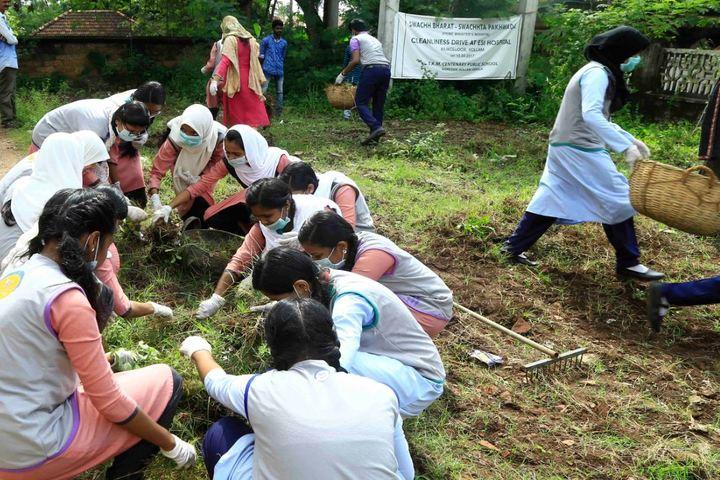 Thangal Kunju Musaliar Centenary Public School-Cleanliness Drive