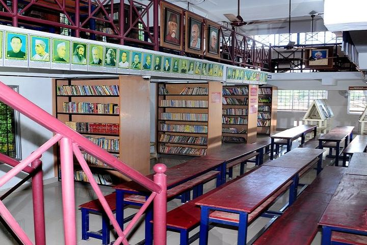 Thangal Kunju Musaliar Centenary Public School-Library