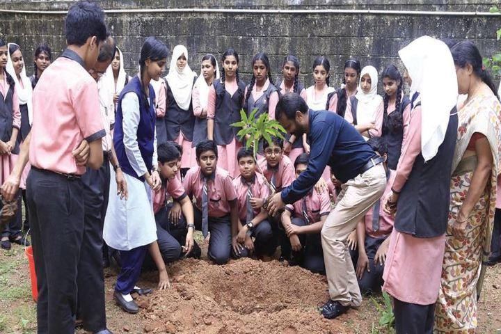 Thangal Kunju Musaliar Centenary Public School-Plantation