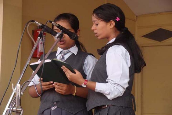St Anthonys School- Speech