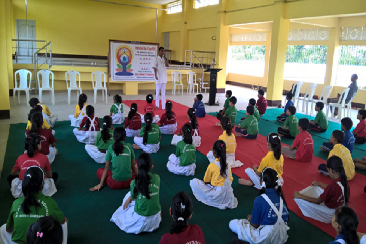 St Anthonys School- Yoga