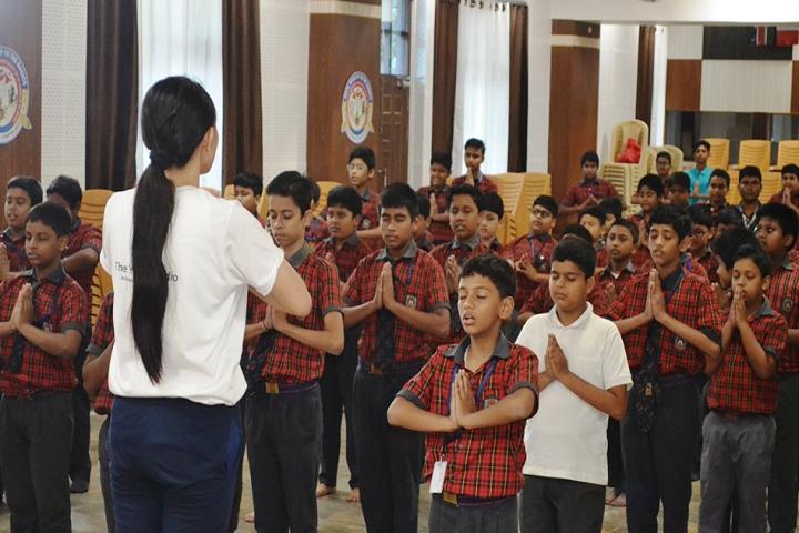 St Francis De Sales School- Yoga Day