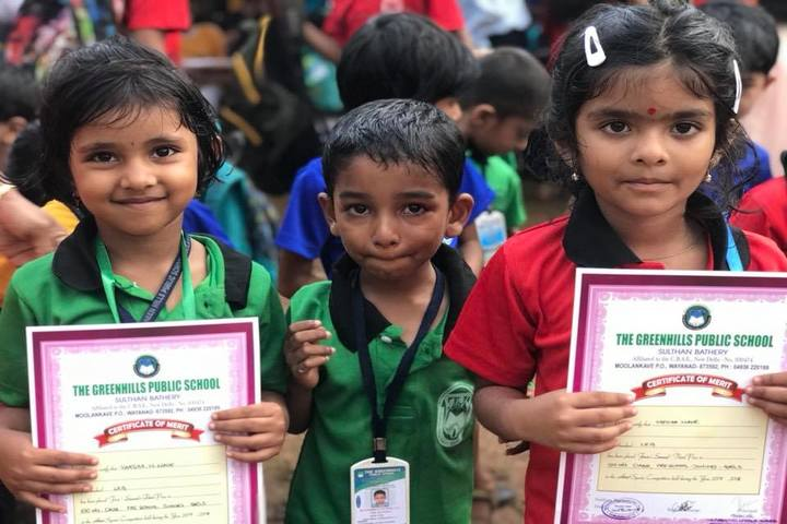 The Green Hills Public School-Certification