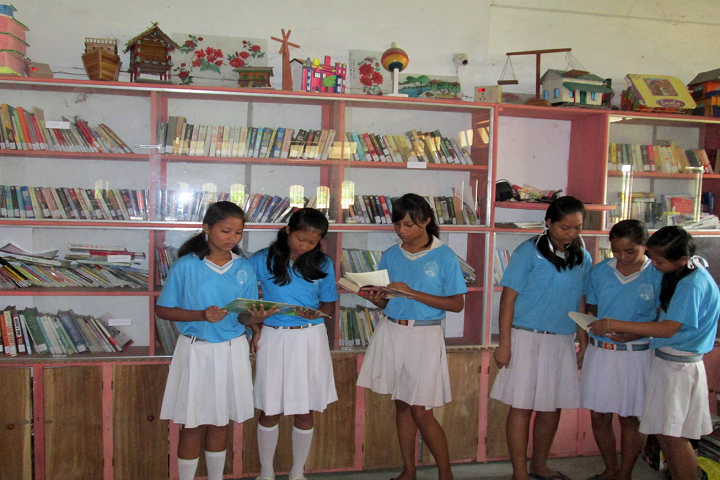St. Peter s National Academy-Library
