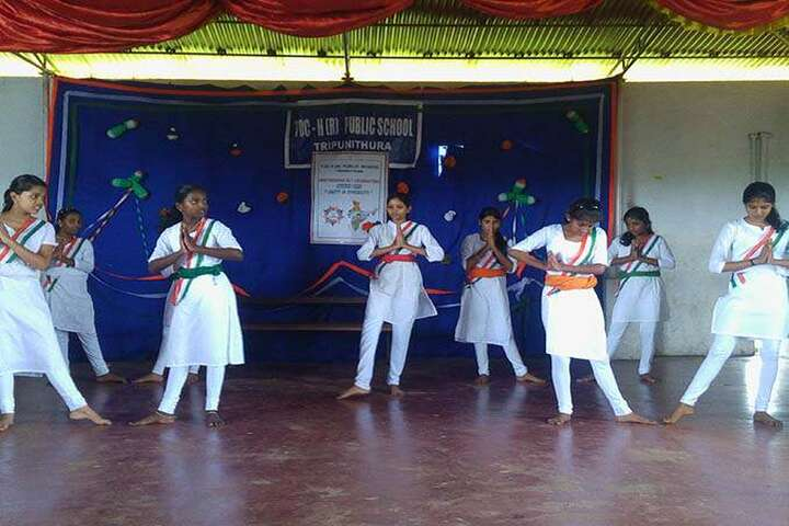 Toch Residential Public School-Independence day