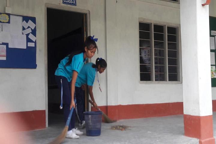 St Xavier s Public School- Swachh Bharat Abhiyan
