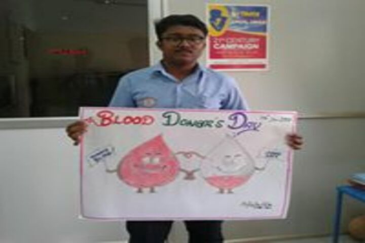 Umariyya Public School - blood donars day