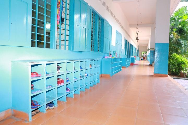 Umeri English School- Inside Campus View
