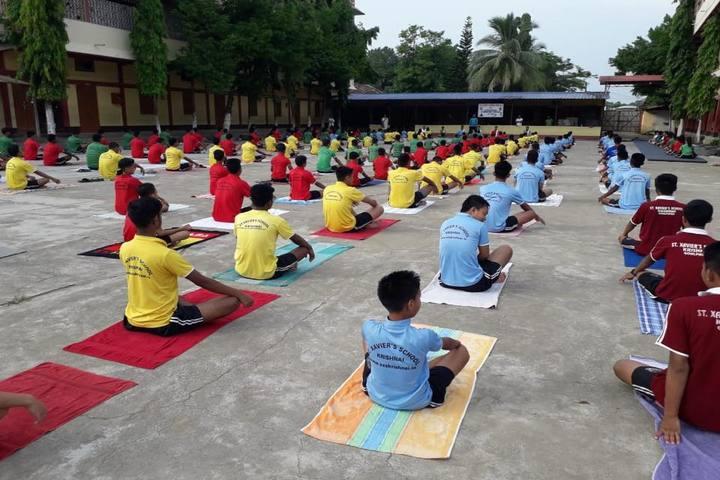 St Xavier S School- Meditation