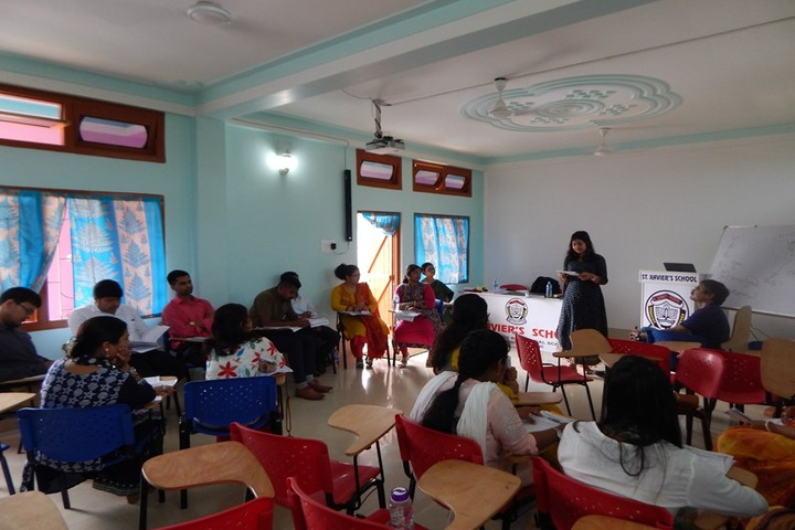 St Xavier S School- Teachers Training Program