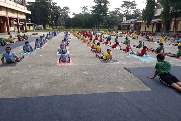 St Xavier S School- Yoga