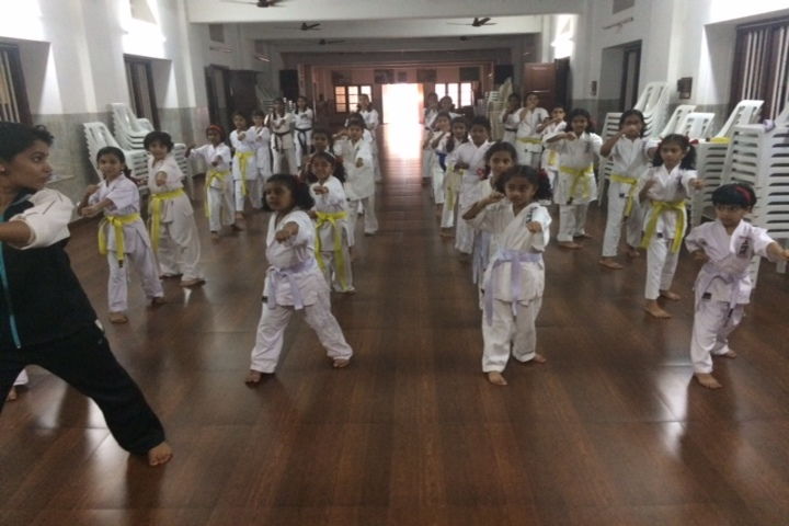 Ursuline senior secondary school - Karate