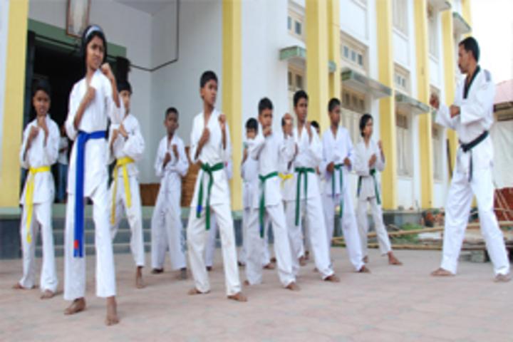 V N S S S N Trusts Central School - karate