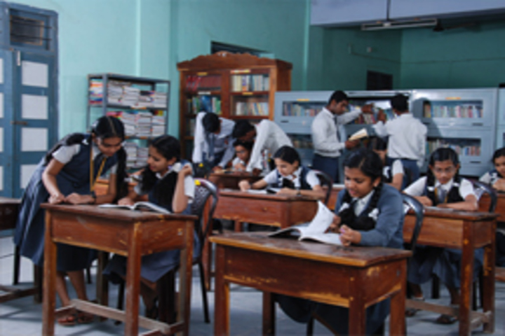 V N S S S N Trusts Central School - library