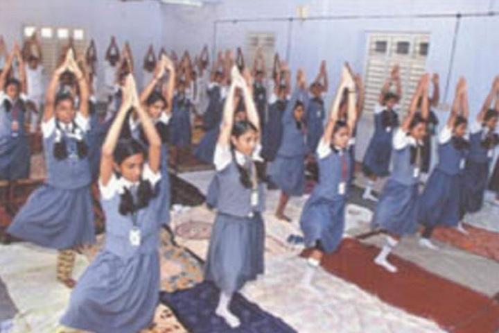 V N S S S N Trusts Central School - yoga