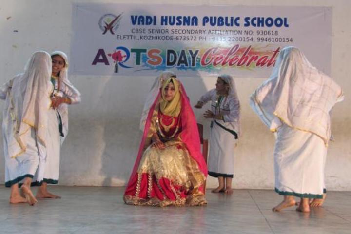 Vadi Husna Public school - Arts day celebration