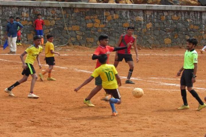 Vadi Husna Public school - Football Game