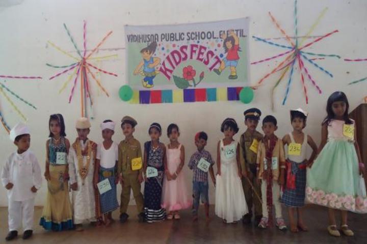 Vadi Husna Public school -Kids fest