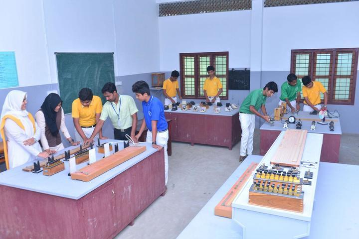 Vadi Husna Public school -Physics lab