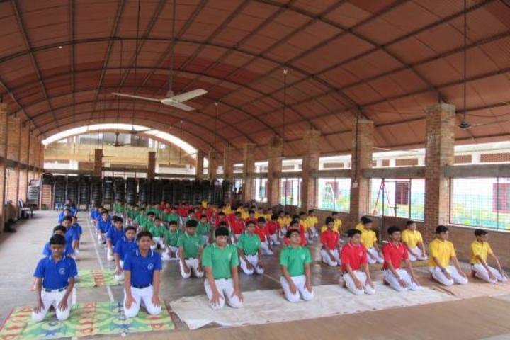 Vadi Husna Public school -Yoga