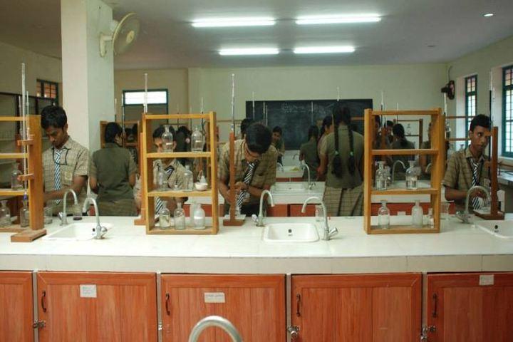 Vasavi vidyalaya - chemistry lab