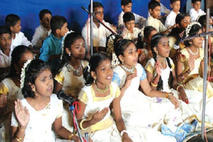Vidhyadhiraja Vidya Bhavan Senior Secondary School-Events singing