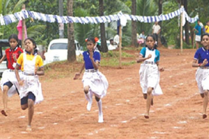Vidhyadhiraja Vidya Bhavan Senior Secondary School-Sports running