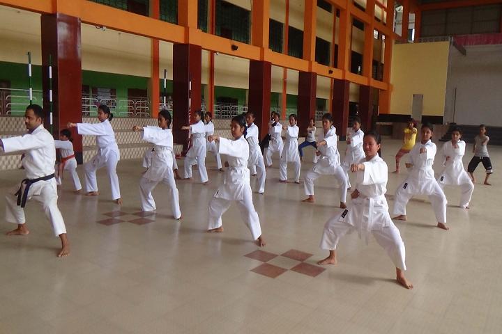 St Mary s English High School- Karate