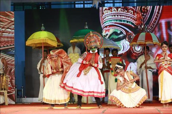 Vijayagiri Public School-Traditional Dance
