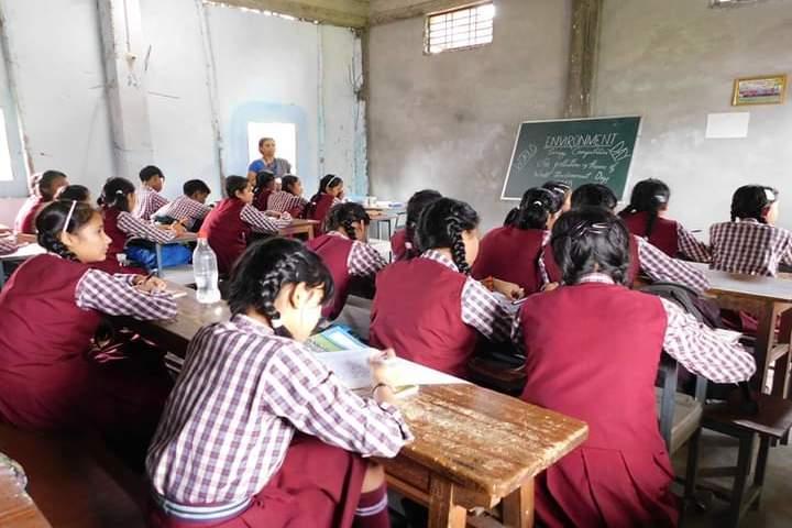 Swami Vivekananda Kendriya Vidyalaya- Classroom