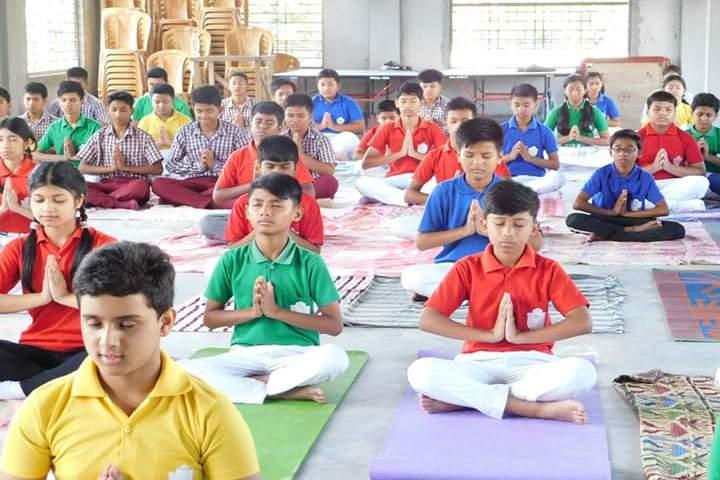 Swami Vivekananda Kendriya Vidyalaya- Yoga Day