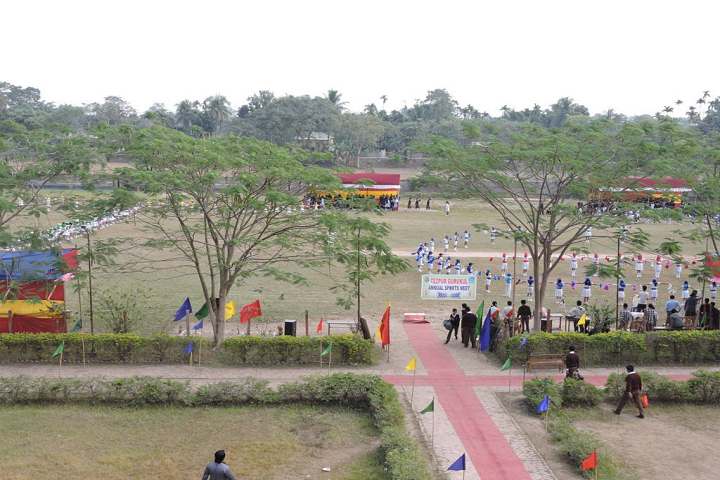Tejpur Gurukul Chatai Chapori-Sports Day
