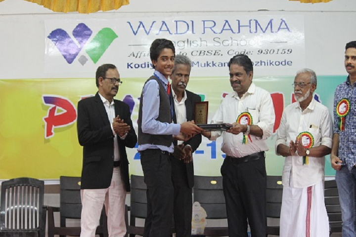 Wadi Rehma English School-Prize Distribution