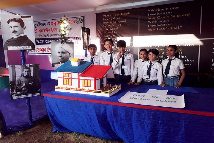 Temple Town Euro School- Exhibition