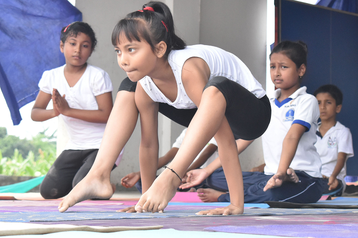 Temple Town Euro School-International Yoga Day