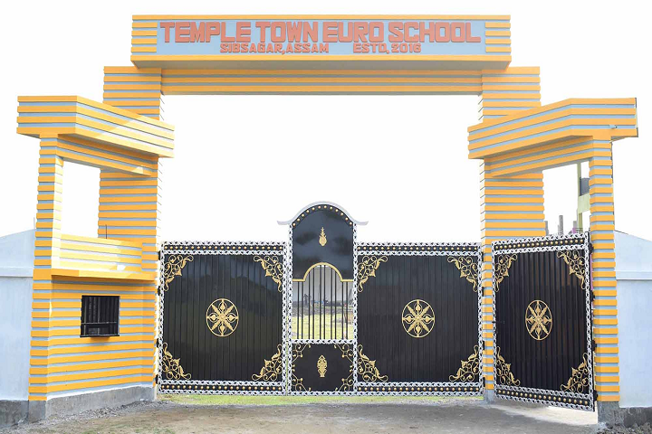 Temple Town Euro School-Front View