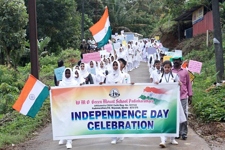 Wmo Green Mount School-Independence Day