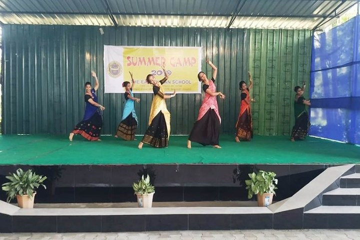 The East Indian School-Dance Performance