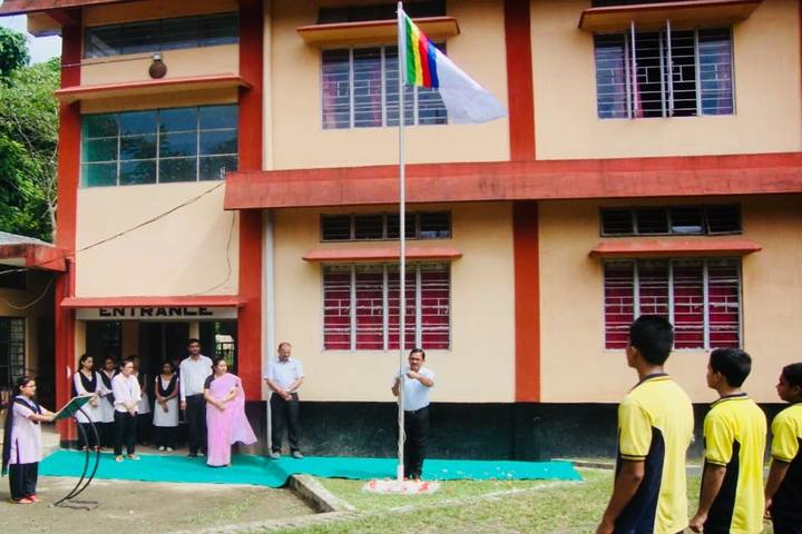 The East Indian School-Flag Hosting