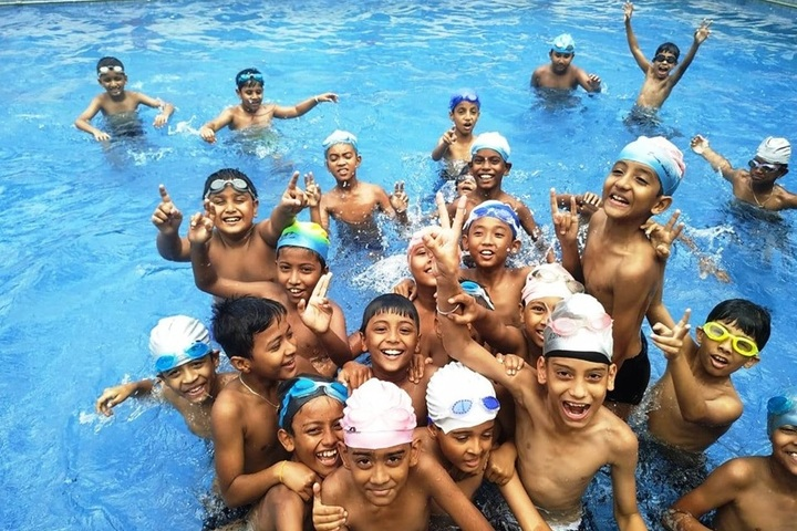 The East Indian School-Swimming Pool